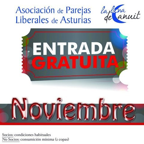 Asociacion de Parejas Liberales de Asturias -  NOVIEMBRE   ¡¡¡ GRATIS !!! - Asociación de Parejas Liberales de Asturias